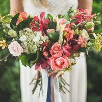 Букет невесты растрепыш