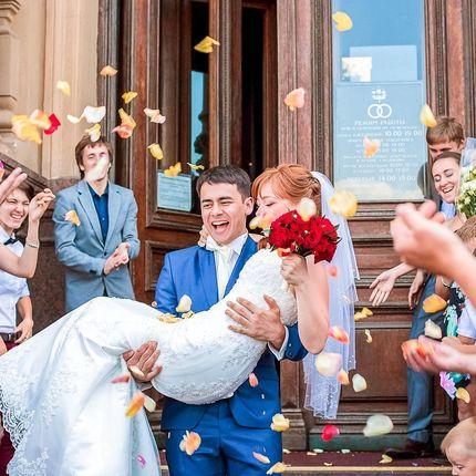 """Видеосъёмка полного дня - пакет """"Premium wedding"""", 17 часов"""