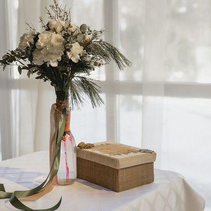 """Зимний букет невесты """"Лесной"""""""