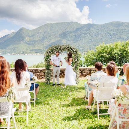 Организация свадьбы для двоих в Черногории