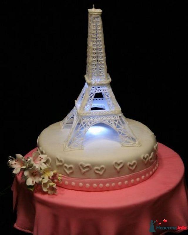 Торт эйфелева башня фото