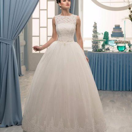 Пышное платье 16-385