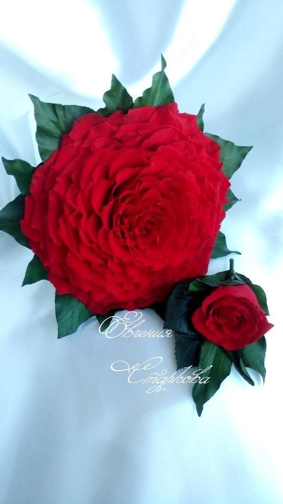 Розамелия из стабилизированных лепестков розы. - фото 10948216 Декор-студия Евгении Старковой