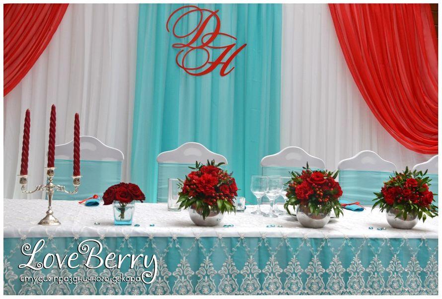 Фото 8384554 в коллекции Ягодно-бирюзовая свадьба - Студия праздничного декора LoveBerry