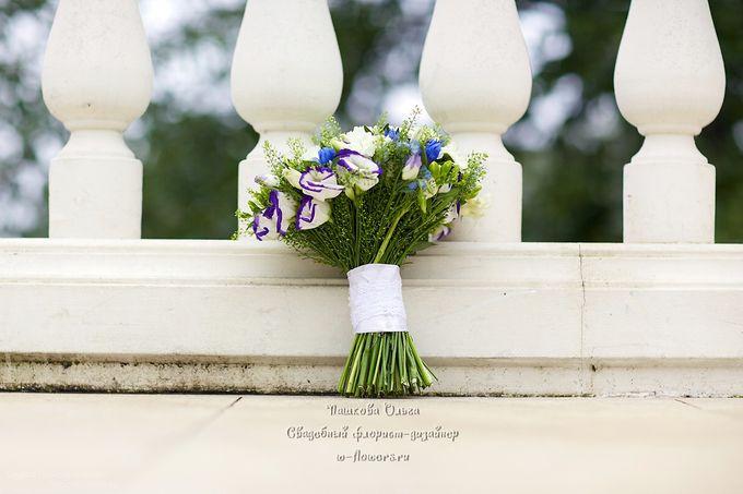 Полевой букет невесты. Флорист Пашкова Ольга. Фото Олеся Пономаренко