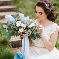 Букет невесты растрепыш Флорист Пашкова Ольга