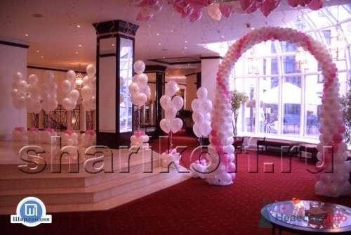 Свадебное оформление воздушными шарами - фото 23279 Шарландия - оформление праздника