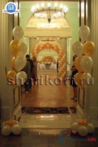 Оформление свадьбы воздушными шарами - фото 23284 Шарландия - оформление праздника