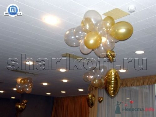 Облако с сердцем - фото 23291 Шарландия - оформление праздника