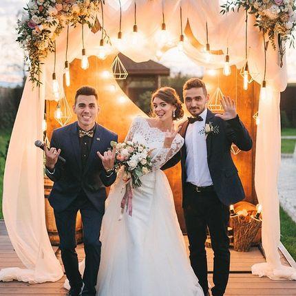 Проведение свадьбы, 5 часов + бонусы!