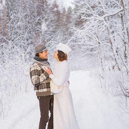 Свадебная фотосъёмка в зимне-весенний период
