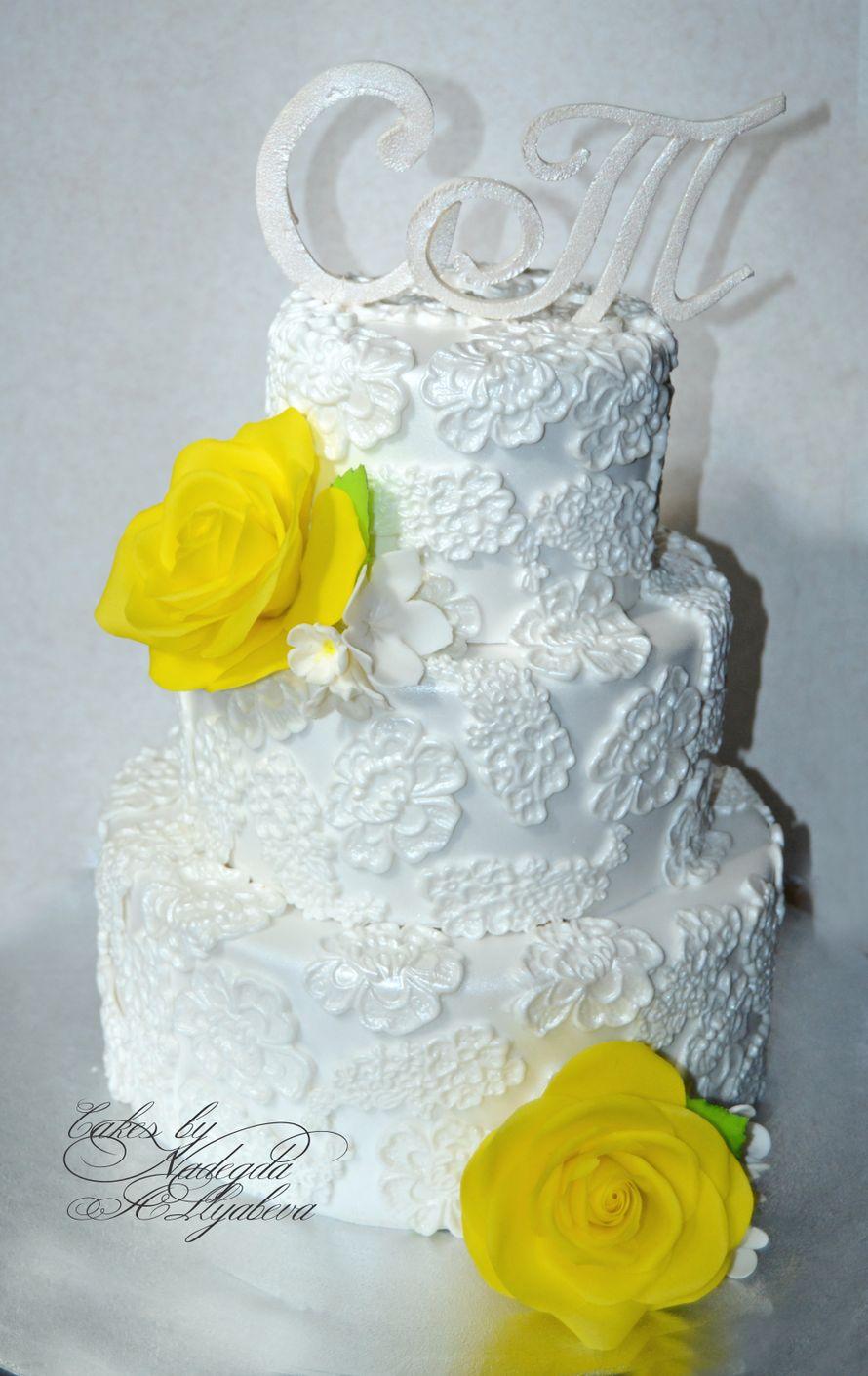 Опишите фотографию здесь - фото 1407659 Надежда Алябьева - свадебные торты