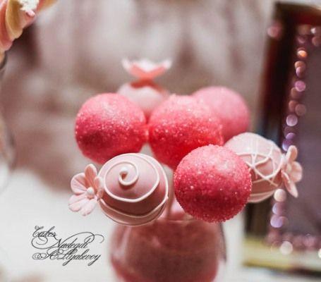 Кейк попс - фото 1773309 Надежда Алябьева - свадебные торты