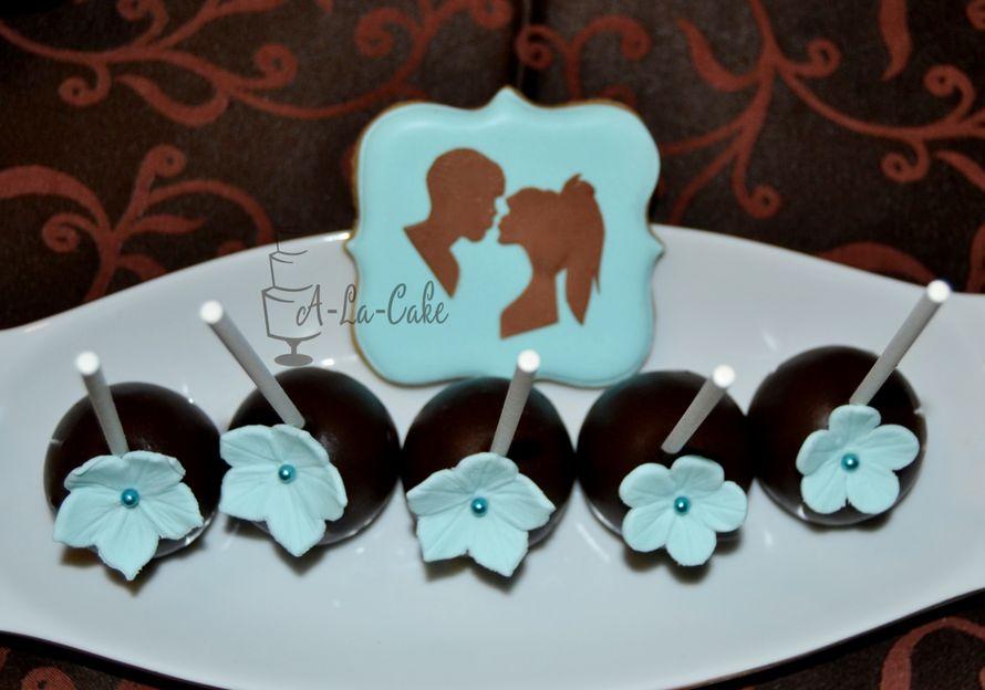 Фото 2507951 в коллекции Candy Bar- маленькие сладости! - Надежда Алябьева - свадебные торты