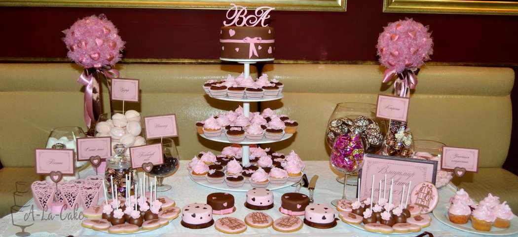 Фото 2507967 в коллекции Candy Bar- маленькие сладости! - Надежда Алябьева - свадебные торты