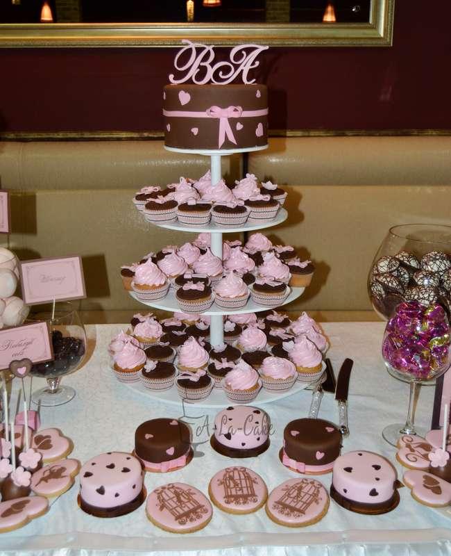 Фото 2507969 в коллекции Candy Bar- маленькие сладости! - Надежда Алябьева - свадебные торты