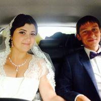 Люба и Денис поженились 16 августа 2014