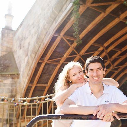 Lovestory и прогулочные фотосессии в Праге