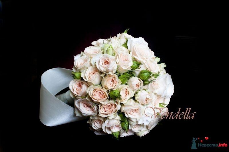 Букет невесты из кустовой розы своими руками 82