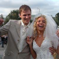 вот примерно так я и  выглядела всю свою свадьбу)))