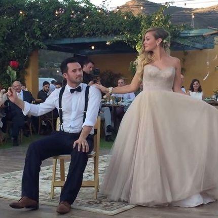 Танец жениха для невесты или невесты для жениха