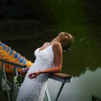 длинные свадебные платья, свадьба на природе