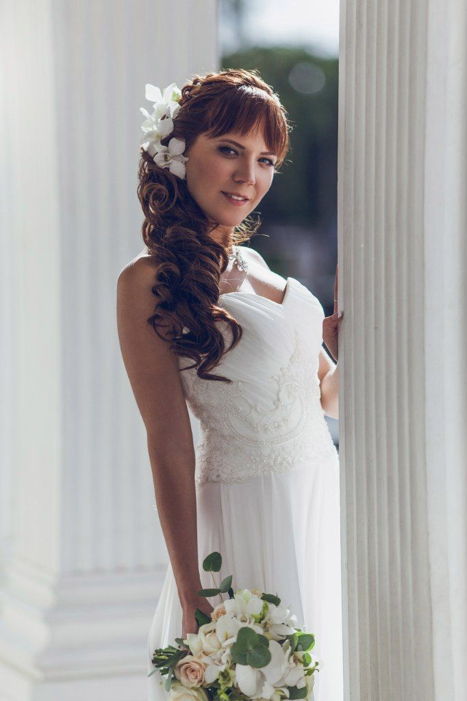 Фото 11302738 в коллекции Свадебные прически и макияж 2015-2016г - Стилист-визажист Марина Ткачева