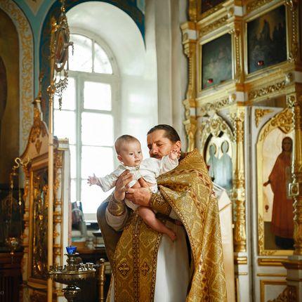 Фотосъёмка таинства крещения