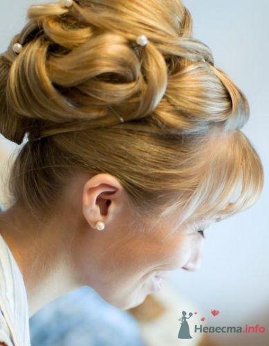 Фото 2224 в коллекции Вечерняя прическа на длинные волосы - Визажист-стилист свадебного образа Лариса Костина