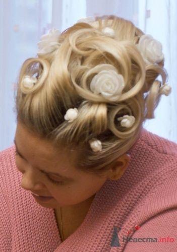 Прическа из осветвленных тонких волос - фото 5474 Визажист-стилист Лариса Костина