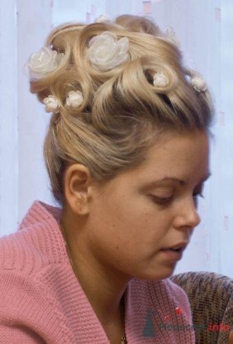 Фото 5475 в коллекции Свадебная прическа из тонких осветленных волос