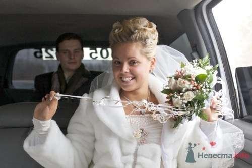 Фото 5477 в коллекции Свадебная прическа из тонких осветленных волос - Визажист-стилист свадебного образа Лариса Костина