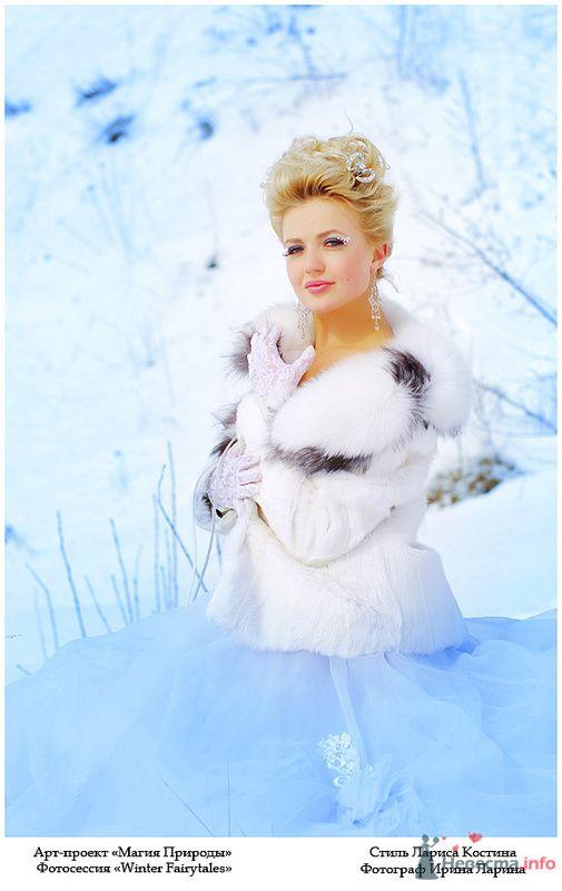 С'нежная - фото 77278 Визажист-стилист свадебного образа Лариса Костина
