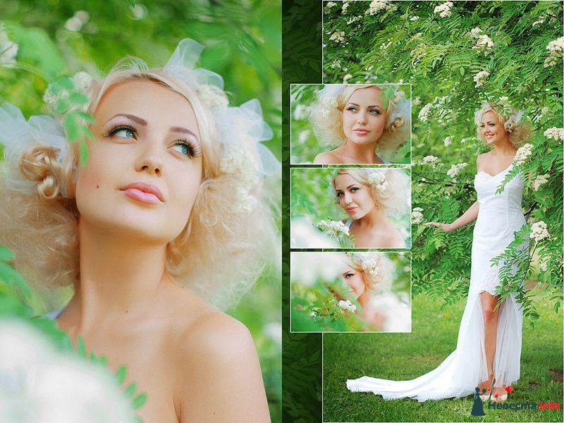 Акация - фото 102716 Визажист-стилист свадебного образа Лариса Костина