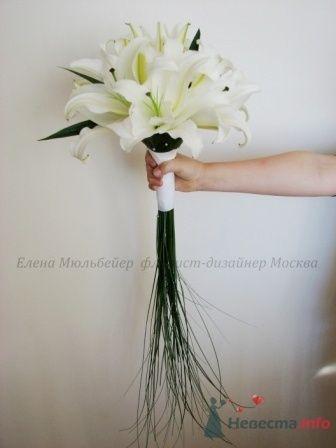 Букет с лилиями - фото 28874 Цветочная мастерская Флорины