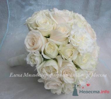 Восхитительный букет из роз - фото 28877 Цветочная мастерская Флорины