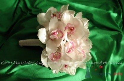 букет из орхидей - фото 30705 Цветочная мастерская Флорины