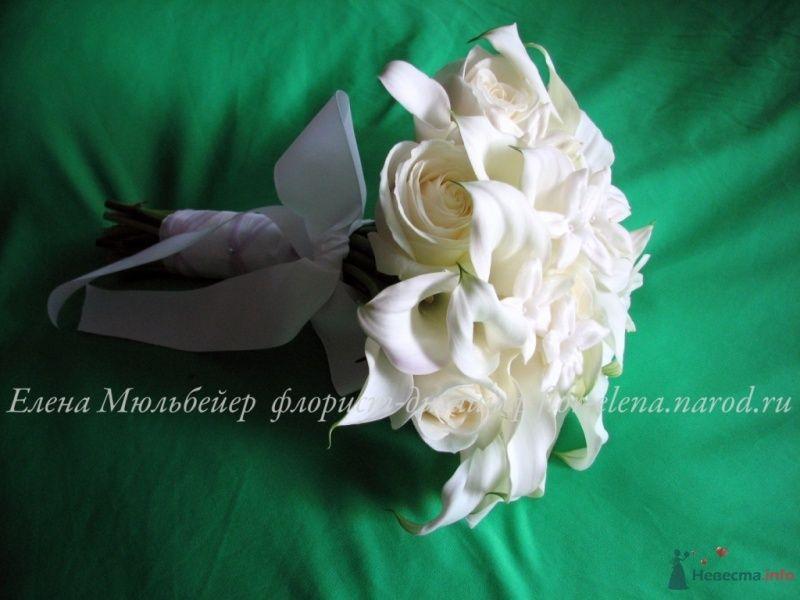 Букет с каллами - фото 34441 Цветочная мастерская Флорины