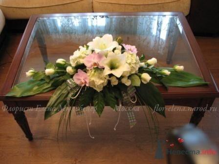 Фото 44302 в коллекции Оформление свадьбы цветами - Цветочная мастерская Флорины