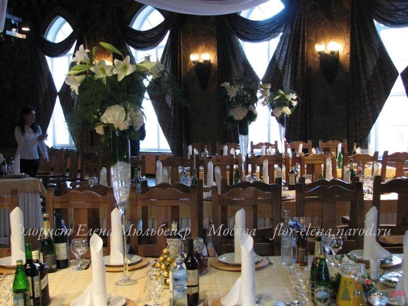 композиции на гостевых столах - фото 48071 Цветочная мастерская Флорины
