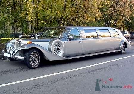 Excalibur Phantom, 11 мест, платина - фото 2771 Vip Limousine - аренда авто
