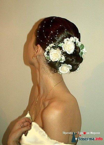 Фото 95455 в коллекции Свадебные прически (фотографии сняты не мной)  - Wamira