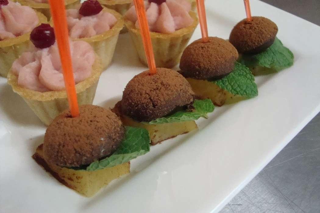 """трюфели на жареном ананасе - фото 6112643 Студия """"Комильфо"""" - организация мероприятий"""