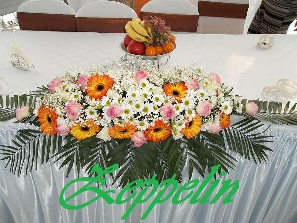 Ладья из живых цветов - фото 1585749 Корпорация праздников - студия оформления
