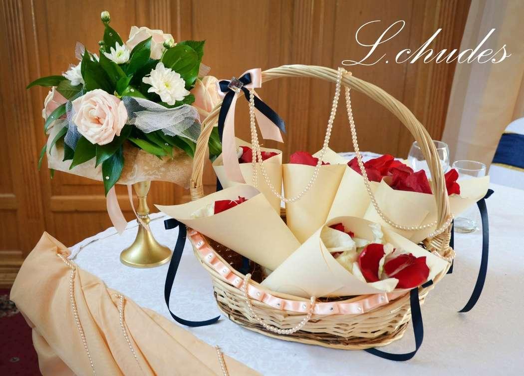 Фото 12996666 в коллекции Свадебные наборы ручной работы. - L.chudes - студия декора и флористики