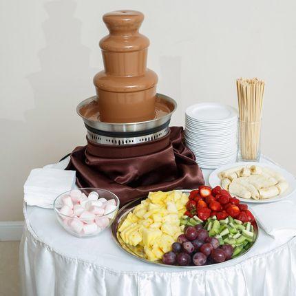 Шоколадный фонтан на торжество