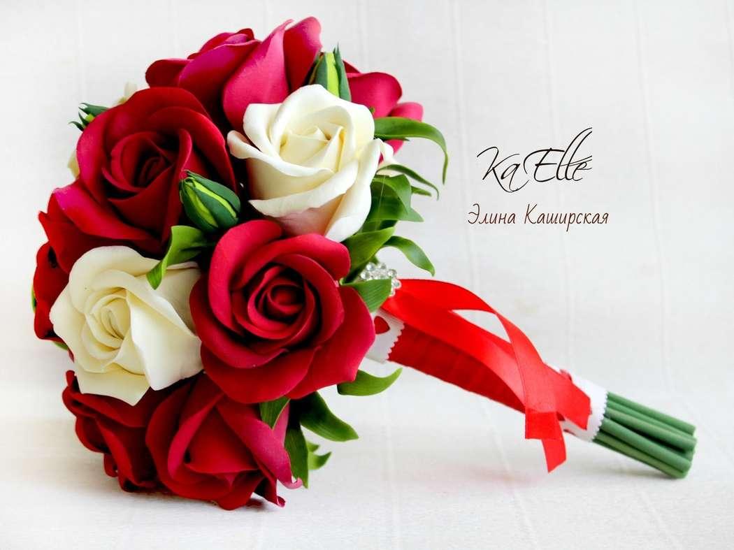 Большая роза из бумаги 34