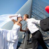 свадьба в Париже, свадебная фотосъемка во франции, свадебная фотосъемка в париже