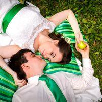 свадебный пикник, Свадьба в зеленом стиле, свадебная фотосьемка на природе