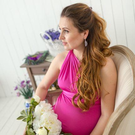 Фотосьёмка беременности в студии